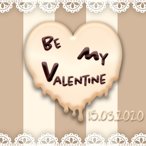 Be My Valentine Cropped